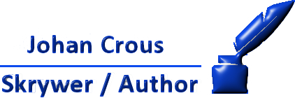 Johan Crous Skrywer / Author. Logo