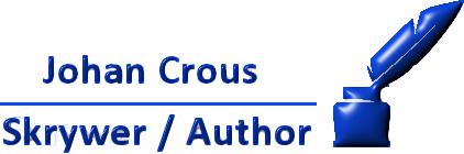 Johan Crous Skrywer / Author. Logo
